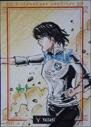 2013 Valiant Comics Preview Trading Card Set (Sketch Card Subset) FM-16-A