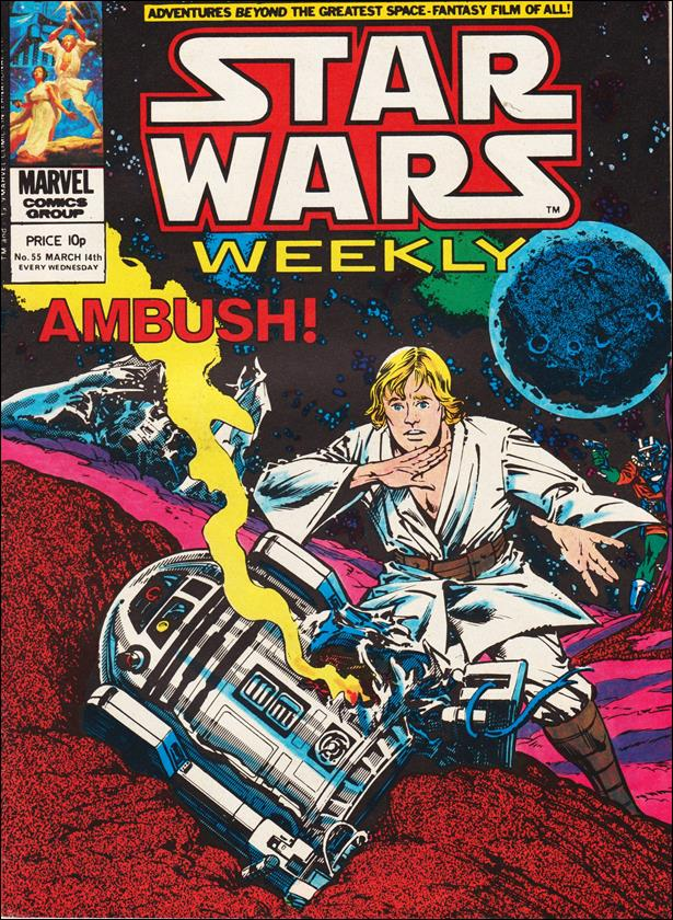 Star Wars Weekly (UK) 55-A by Marvel UK