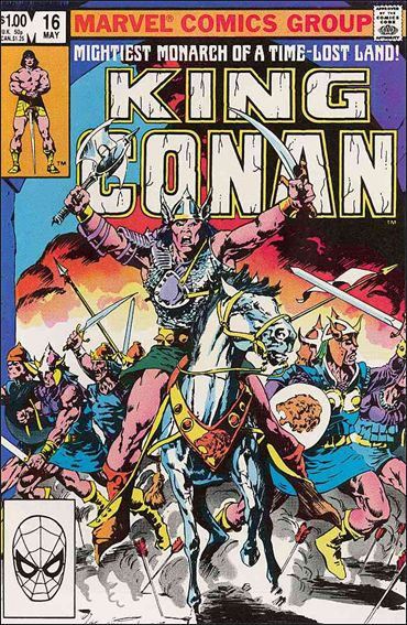 King Conan 16-A by Marvel