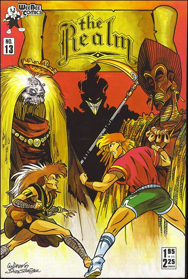 Realm (1986) 13-A by Arrow