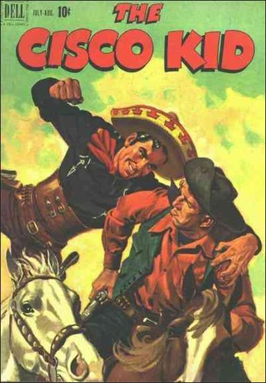 Cisco Kid (1951) 4-A by Dell