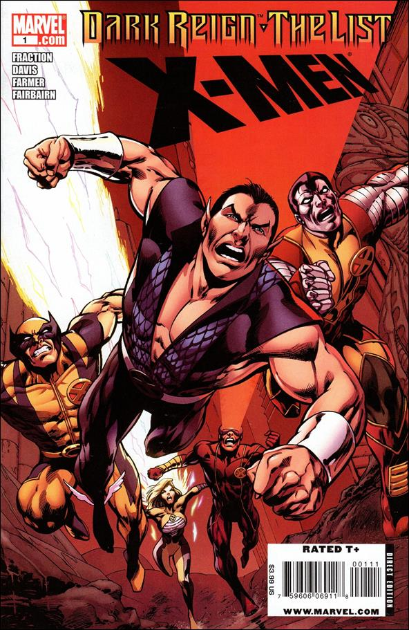 Dark Reign: The List - X-Men 1-A by Marvel