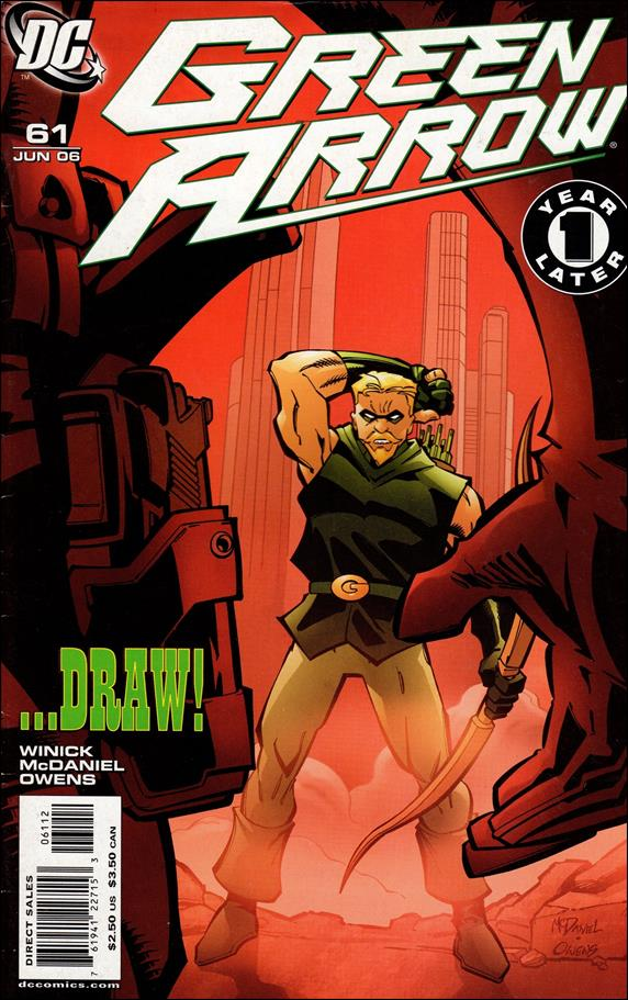 Green Arrow (2001) 61-B by DC
