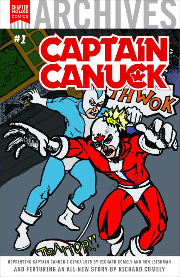 Chapterhouse Archives: Captain Canuck 1-B