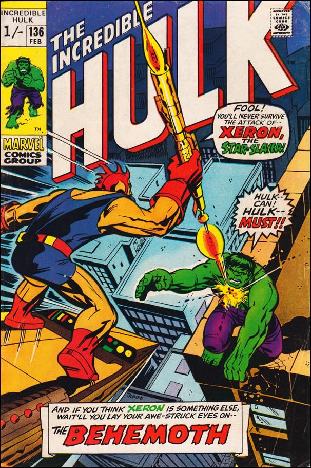 Incredible Hulk (1968) 136-B by Marvel