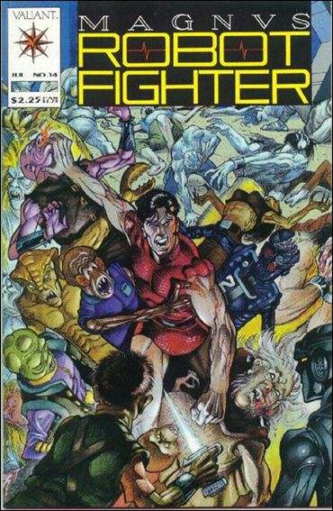 Magnus Robot Fighter (1991) 14-A by Valiant