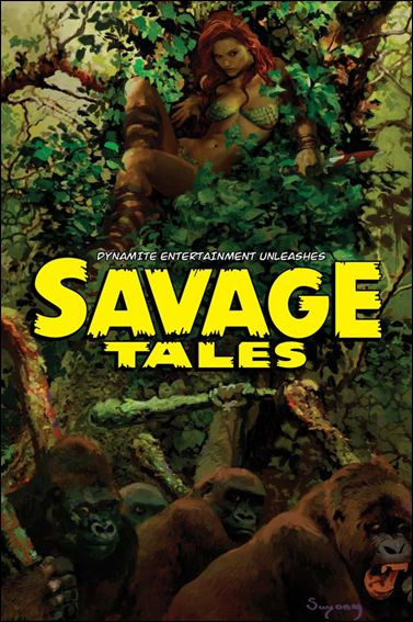 Savage Tales (2007) 7-B by Dynamite Entertainment