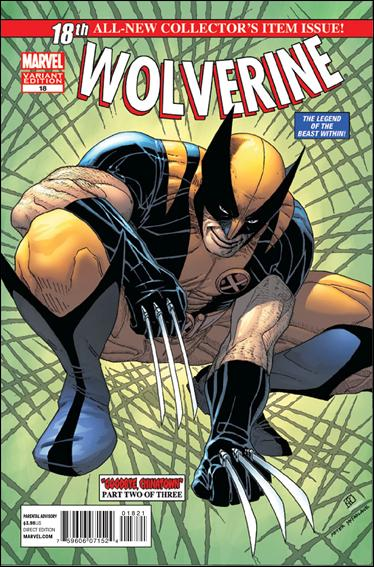 Wolverine (2010) 18-B by Marvel