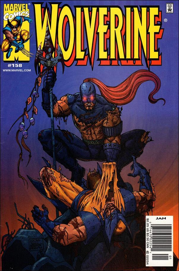 Wolverine (1988)  158-B by Marvel