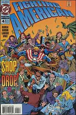 Fighting American (1994) 4-A by DC