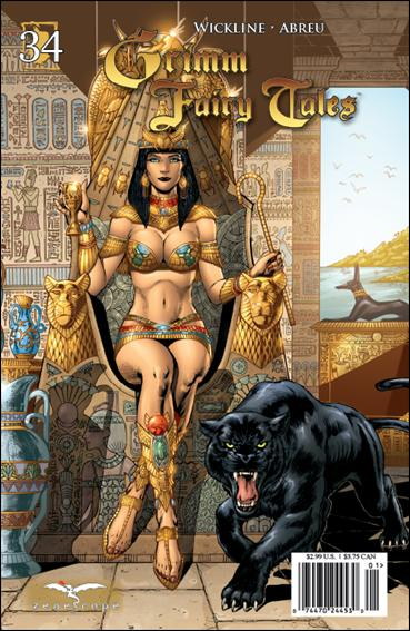 Grimm Fairy Tales (2005) 34-A by Zenescope Entertainment