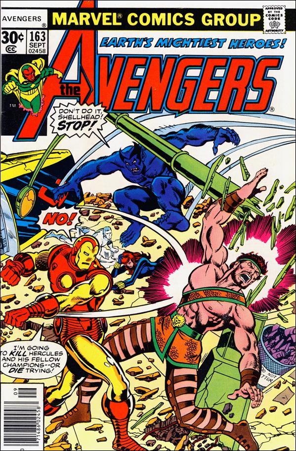Avengers (1963) 163-A by Marvel