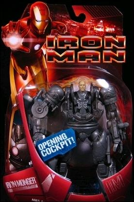 Iron Man (Movie) Iron Monger (Openeing Cockpit) by Hasbro
