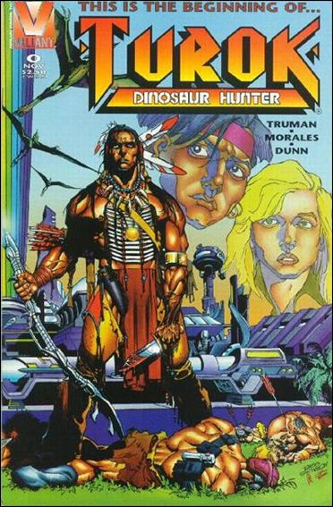 Turok, Dinosaur Hunter (1993) 0-A by Valiant