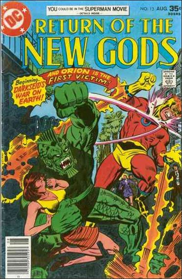 New Gods (1971) 13-A by DC