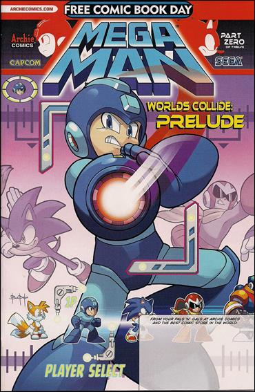 Sonic and Mega Man: Worlds Collide Prelude, Free Comic Book Day Edition 1-A by Archie