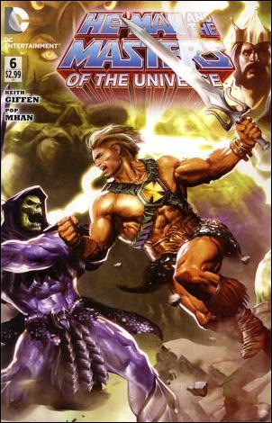 He-Man and the Masters of the Universe (2012) 6-A by DC
