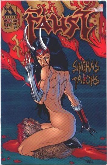 Faust: Singha's Talons  1/2-H by Avatar Press