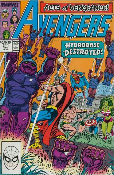 Avengers (1963) 311-A by Marvel