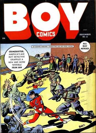 Boy Comics 13-A by Lev Gleason Productions