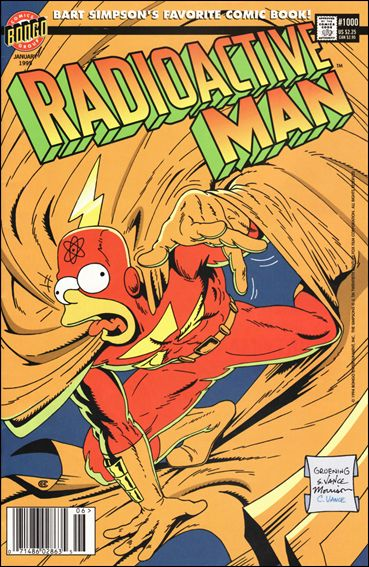 Radioactive Man (1993) 1,000-A by Bongo
