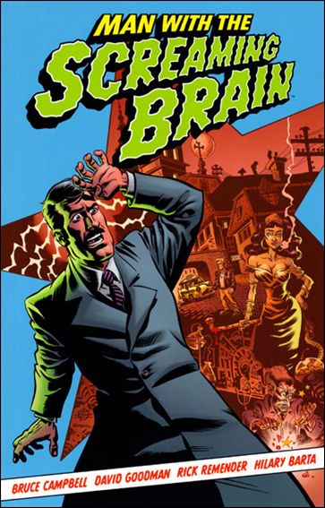 Man with the Screaming Brain nn-A by Dark Horse