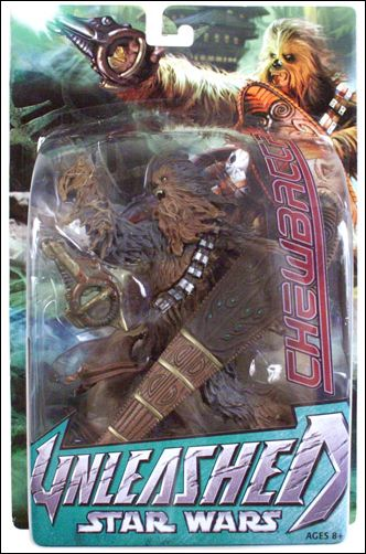 Star Wars: Unleashed Chewbacca (Episode III - Wal-Mart Exclusive) by Hasbro