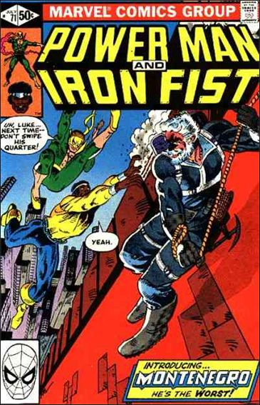 Power Man and Iron Fist (1978) 71-A by Marvel