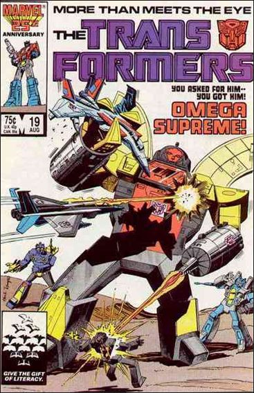 Transformers (1984) 19-A by Marvel