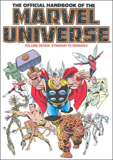 Official Handbook of the Marvel Universe 7-A by Marvel