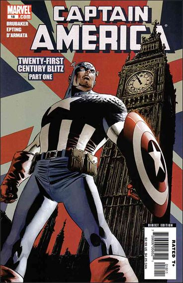 Captain America (2005) 18-A by Marvel