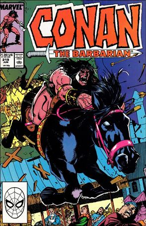 Conan the Barbarian (1970) 219-A