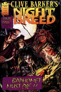 Clive Barker's Night Breed (1990) 21-A by Epic