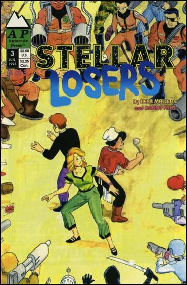 Stellar Losers 3-A by Antarctic Press