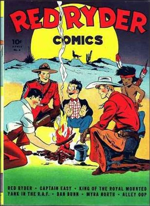Red Ryder Comics 6-A