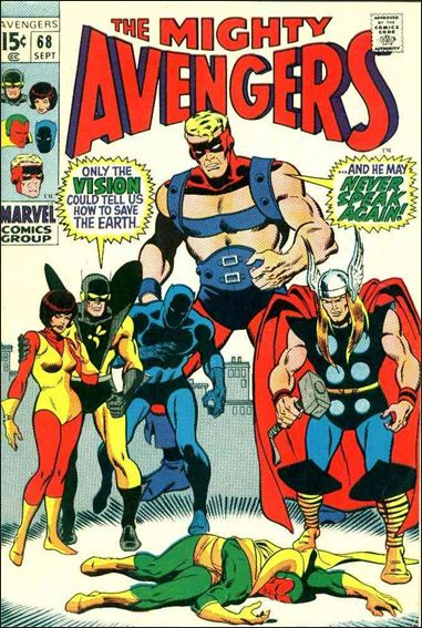 Avengers (1963) 68-A by Marvel