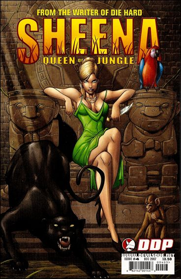 Sheena, Queen of the Jungle (2007) 4-A by Devil's Due