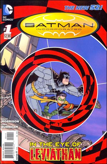 Batman Incorporated 1-A by DC
