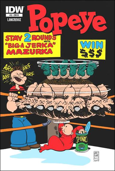 Popeye (2012) 12-B by IDW
