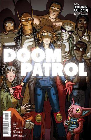 Doom Patrol (2016) 6-A