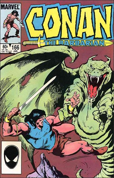 Conan the Barbarian (1970) 166-A by Marvel