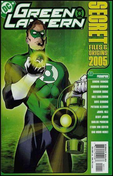Green Lantern Secret Files and Origins 2005-A by DC