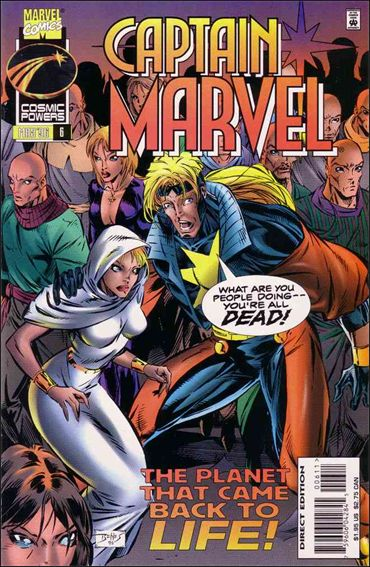Captain Marvel (1995) 6-A by Marvel