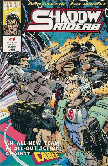 Shadow Riders (UK) 1-A by Marvel UK