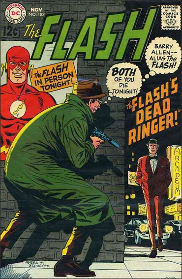 Flash (1959) 183-A by DC