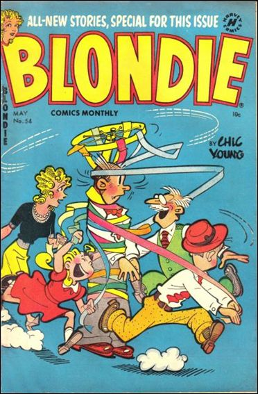 Blondie Comics (1950) 54-A by Harvey