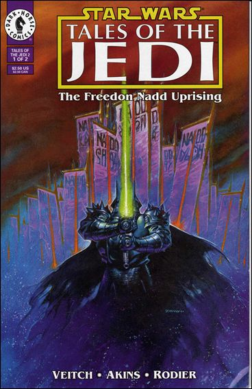 Star Wars: Tales of the Jedi - The Freedon Nadd Uprising 1-A by Dark Horse