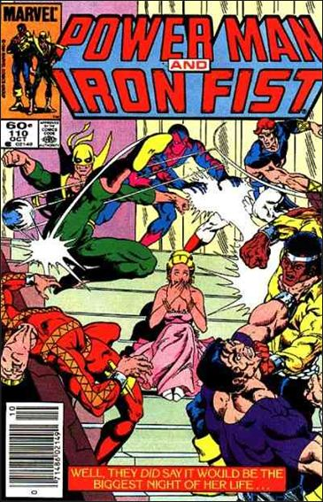 Power Man and Iron Fist (1978) 110-A by Marvel