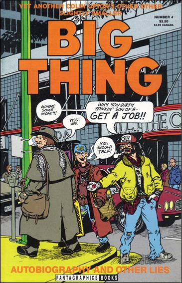 Colin Upton's Other Big Thing 4-A by Fantagraphics