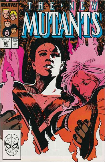 New Mutants (1983) 62-A by Marvel
